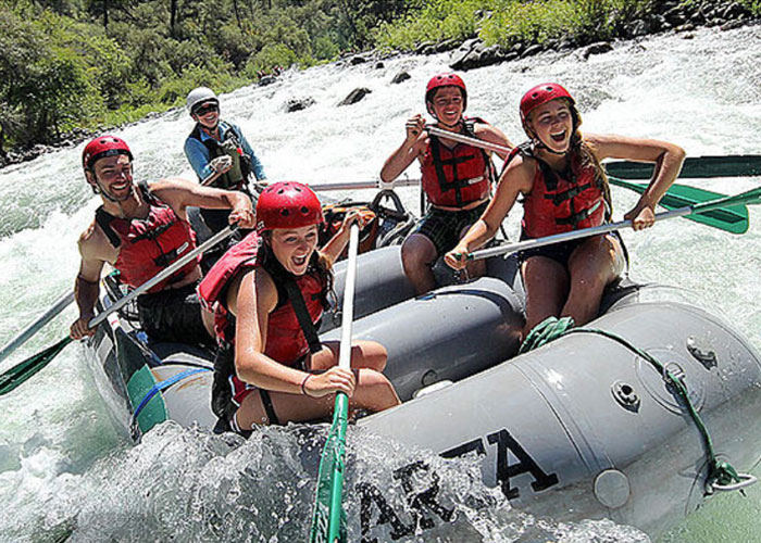 White water adventures are at your finger tip in Groveland. Photo: ARTA.