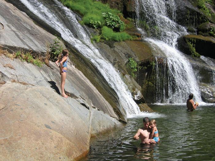 Family fun near Groveland. Photo: Evergreen Lodge
