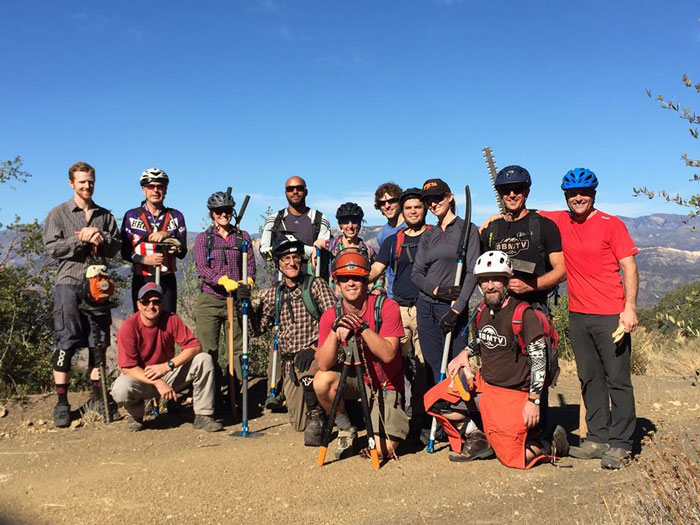 Photo: Santa Barbara Mountain Bike Trail Volunteers (SBMTV).
