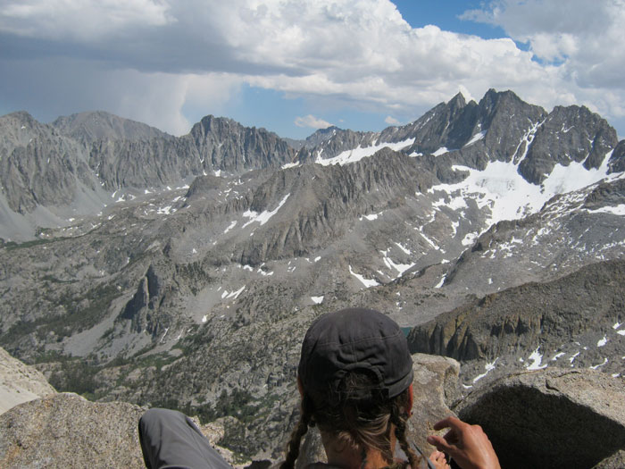 A view of the summit panorama. Photo: Brandon Griep.