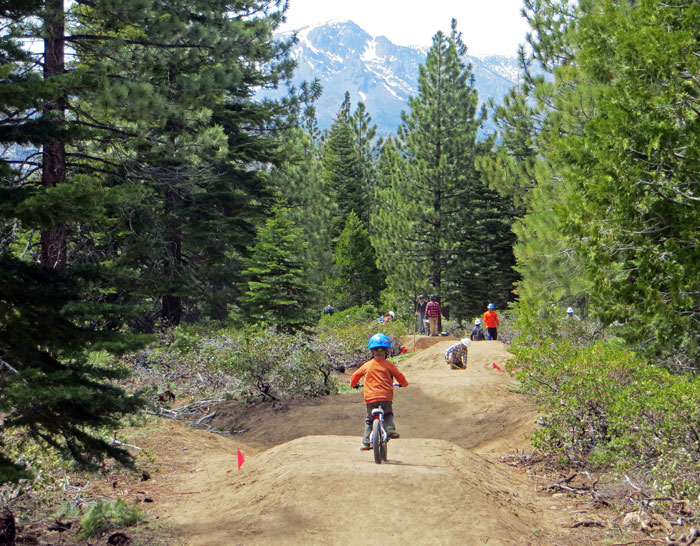 South Lake Tahoe's Corral Trail offers riding opportunities for all abilities, from the young 'uns ...