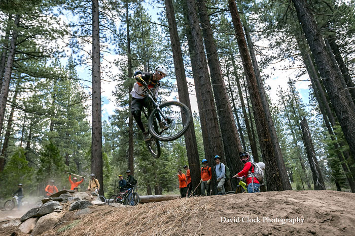 ... to  the stylin' advanced. Photo: Tahoe Area Mountain Biking Association (TAMBA).
