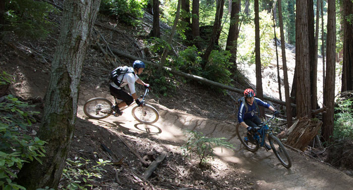 Photo: Bruce Dorman / Mountain Bikers of Santa Cruz.