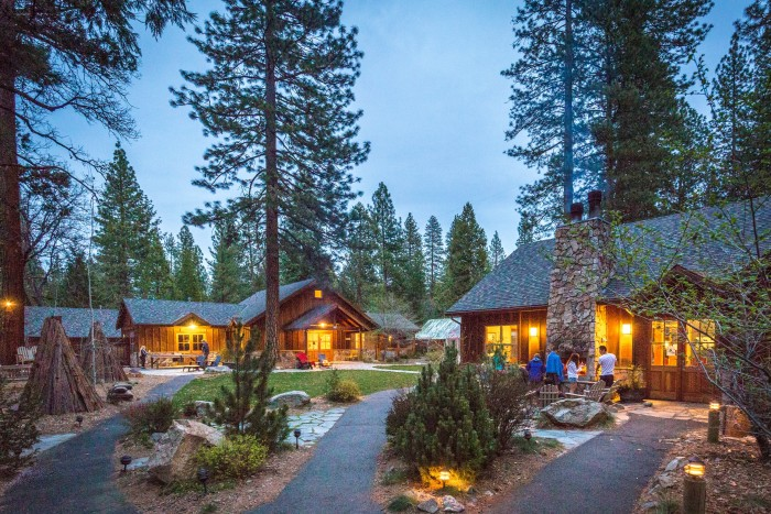 Evergreen Lodge offers great accommodations outside of Groveland. Photo: Kim Carroll/Evergreen Lodge.