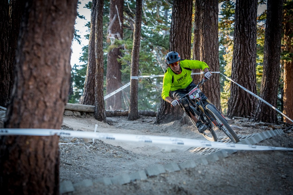 Ripping through a paver berm on Stage 2.