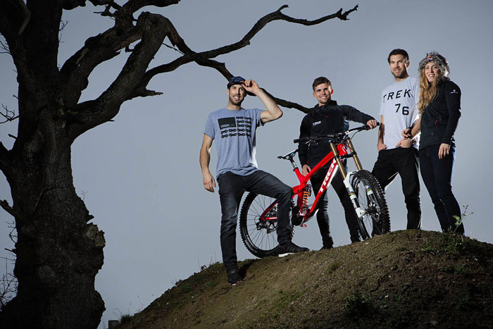 Athertons Join All New Trek DH Team