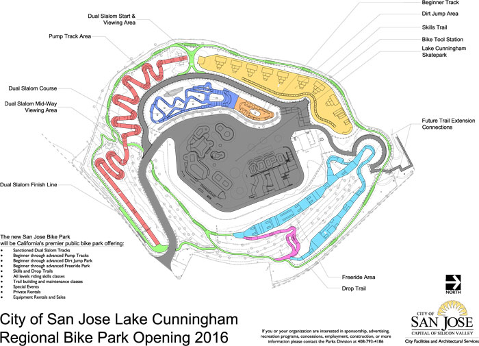 New Bike Park to Open in San Jose Fall 2016