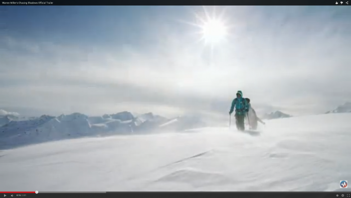 "CLICK IMAGE to view Warren Miller's ""Chasing Shadows"" Trailer"