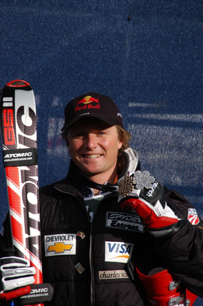 Daron Rahlves, World Championships 2005 Silver DH & Bronze GS medalist (Atomic).