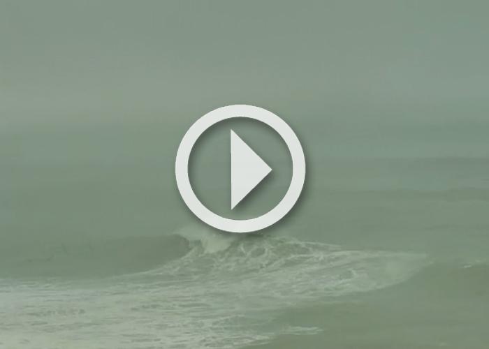 Mavericks Breaks 35-40 Feet as Large WNW Swell Hits Coast