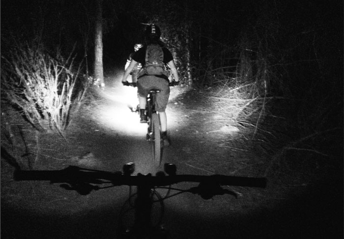 Fat Tire Tuesday: Riding at Night for the Solar Powered