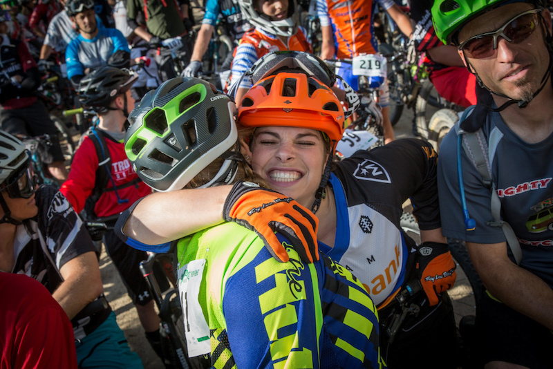 Series regular and 2015 3rd Pro Women series overall winner – Brianne Spiersch's enthusiasm, passion and dedication well reflect the enduro spirit (Called to Creation).