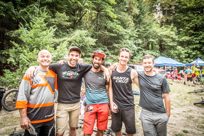 Enduro camaraderie. The force is strong with this crew (Called to Creation).