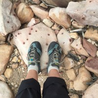 Mountain Monday: Red Rocks, Polka Dots and Pink Ropes