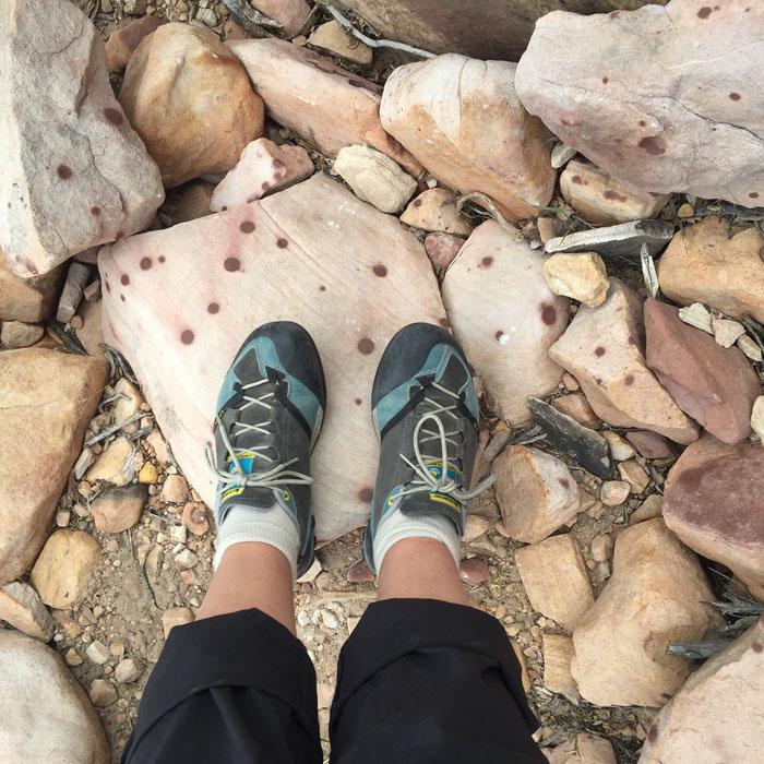 Mountain Monday: Red Rocks, Polka Dots and Pink Ropes