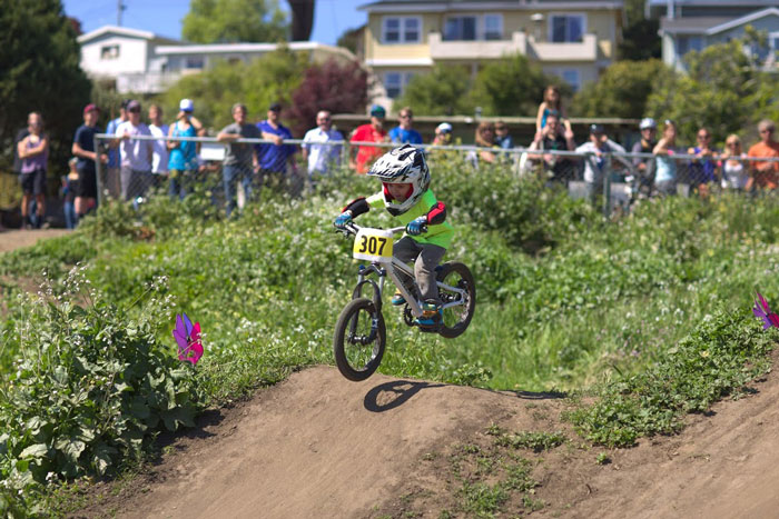 Beloved and belated Aptos Post Office Jumps community bike park (Bogdan Marian).