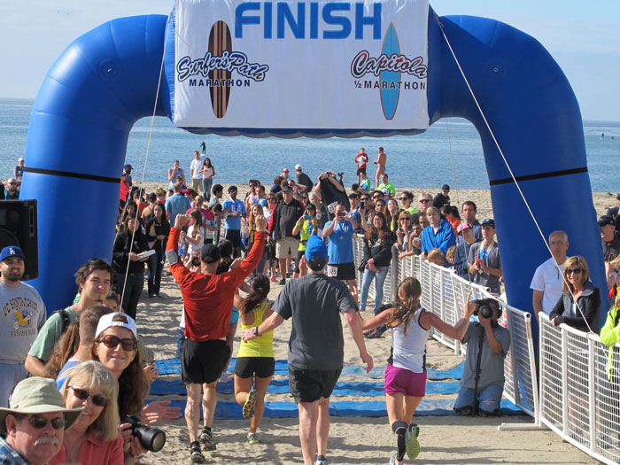 Surfer's Path Marathon, Capitola Half Marathon and Relay 2016