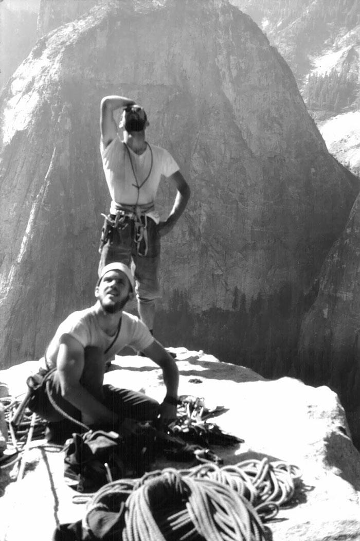 RR-roypra_-Chuck-Pratt-and-Royal-Robbins-El-Cap-Spire,the-Salathe-Wall,El-Capitan,Yosemite-Valley,-California