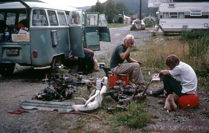 VW engine rebuild (Mark Moore).