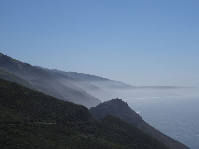 Big Sur Coast couth of Lilm Kiln State Park.