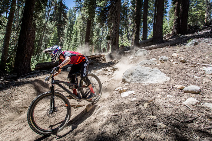 Brian Lopes was pinned on the unforgiving terrain of China Peak.