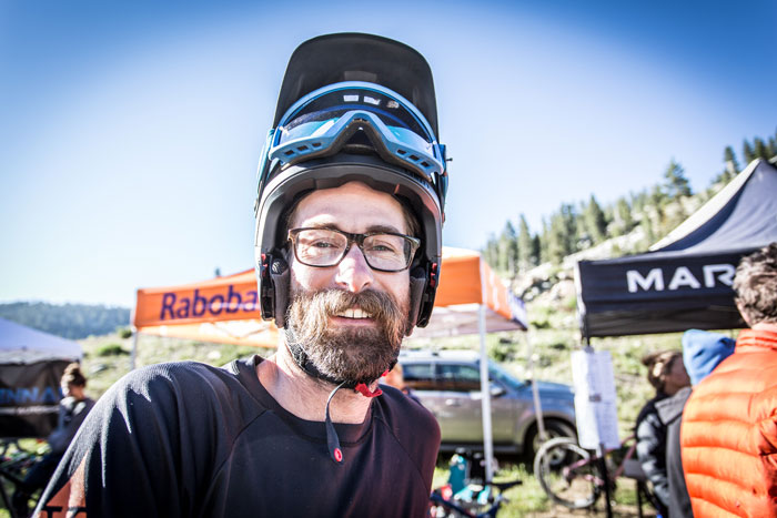 Scott Chapin slayed the high Sierra terrain finishing 8th in pro men's.