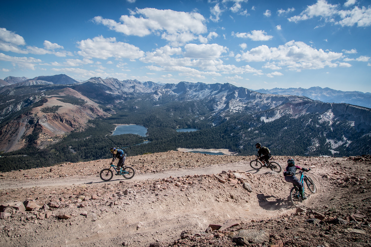 Riders took on the high elevation and rugged terrain of Mammoth Mountain with style and grace, during the 2015 Mammoth Enduro (Called to Creation).