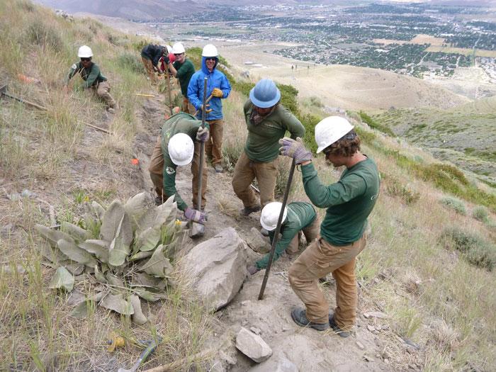 The Trail Steward of Carson City