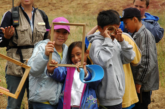 Each year, more than 50,000 children have an outdoor education experience at TWC preserves (David Clendenen/TWC).