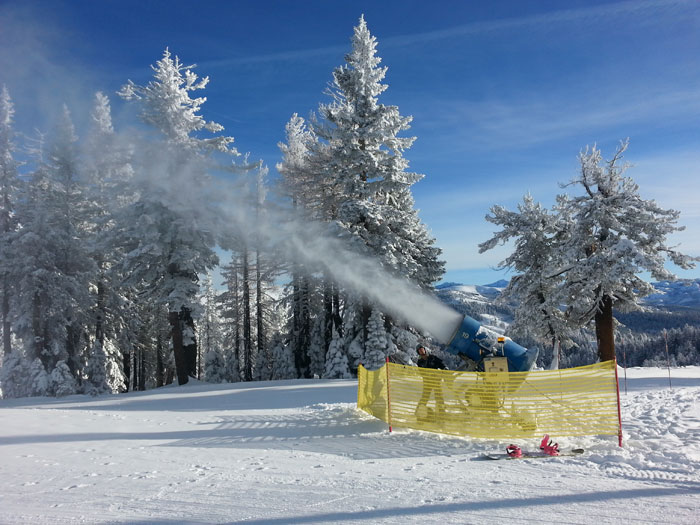 Bear Valley Invests in Snowmaking and Grooming