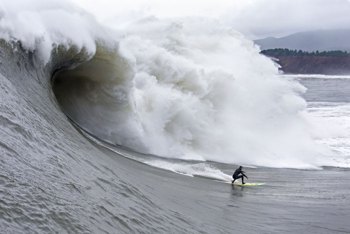 Mavericks – one of the best and heaviest waves on the planet.