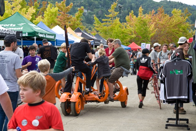 Team work. Photo courtesy of Biketoberfest Marin.