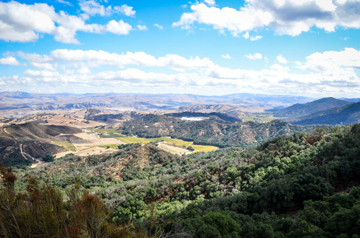 Offroad trails at Hollister Hills rewarded those who chose to tackle them with breathtaking views of the surrounding area. Photo: Tom Owen.