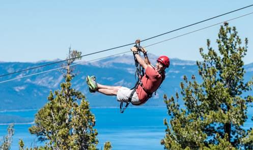 Heavenly Mountain Resort Debuts Silver Zip Line Tour