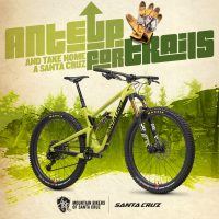 """Mountain Bikers of Santa Cruz Partners with Santa Cruz Bicycles in """"Ante Up For Trails"""" Campaign"""