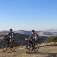 Bikepacking with Crister