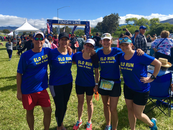 Inaugural Relay Event at SLO Marathon Ends in a Win for Team SLO Run