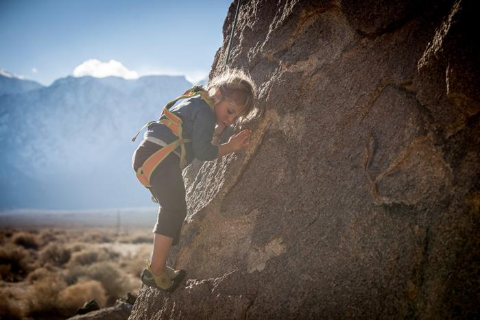 Kinder Kletter