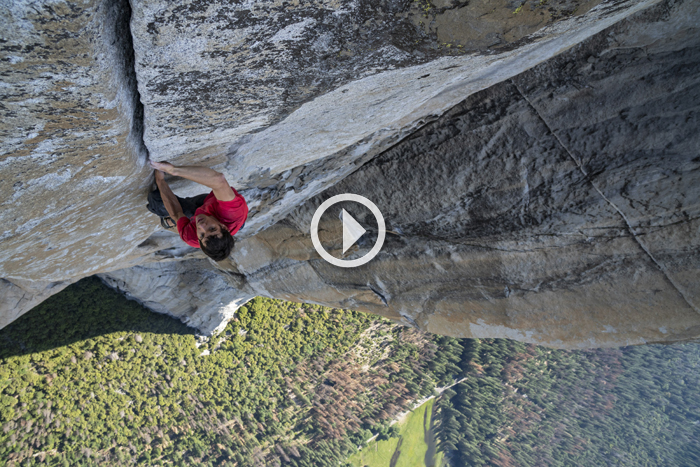 Trailer: Free Solo — A Film about Alex Honnold's Lifelong Dream to Climb El Cap without a Rope