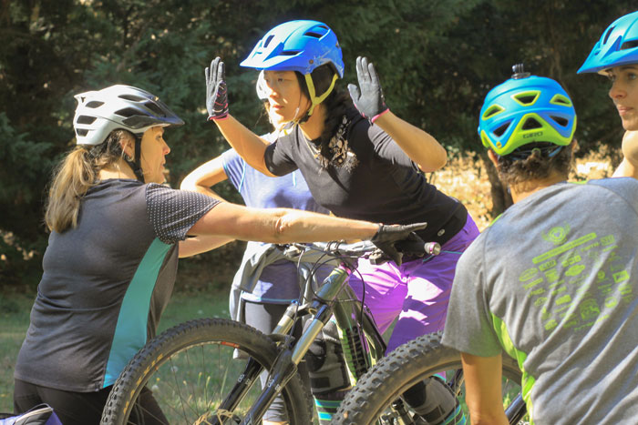 Nevada County Women's Mountain Bike Skills Clinic and Camp