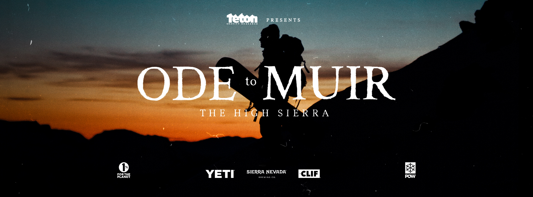 Official Trailer: Ode to Muir – The High Sierra