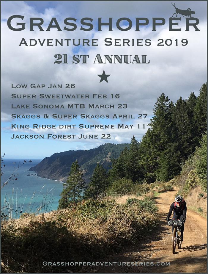 Grasshopper Adventure Series 2019
