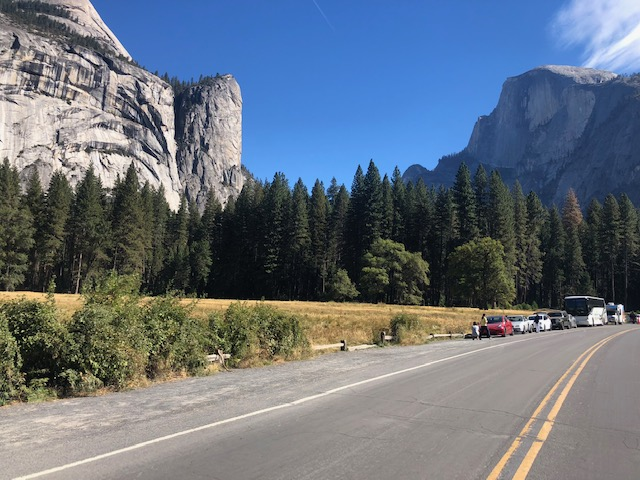 Yosemite Valley, August 2018