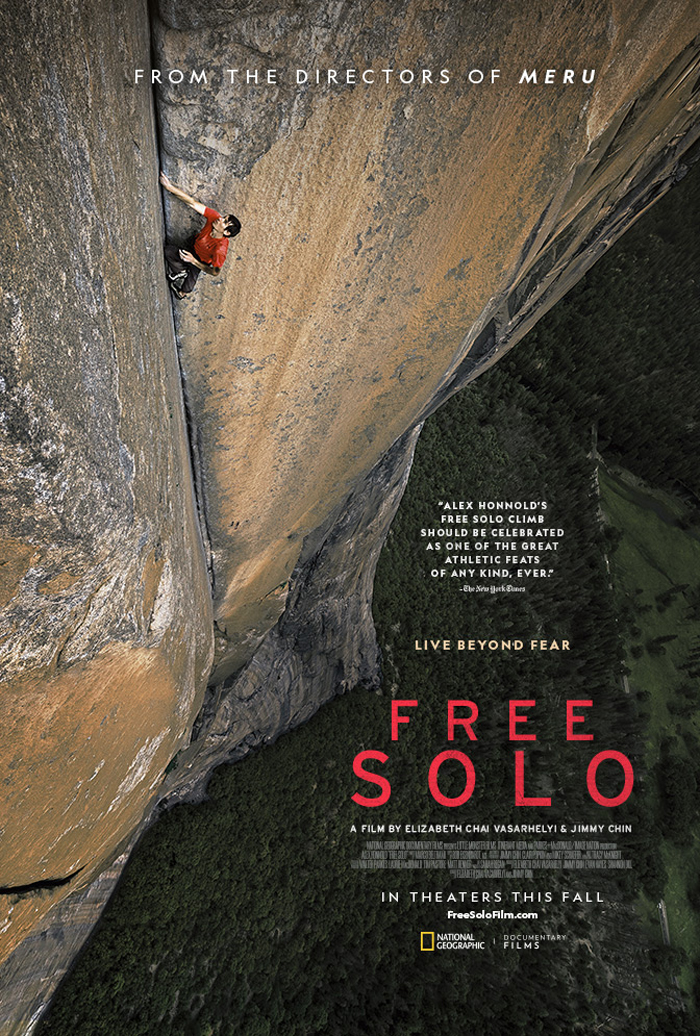 Free Solo Nominated for Oscar.