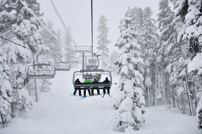 Sierra snowpack is on the rise.