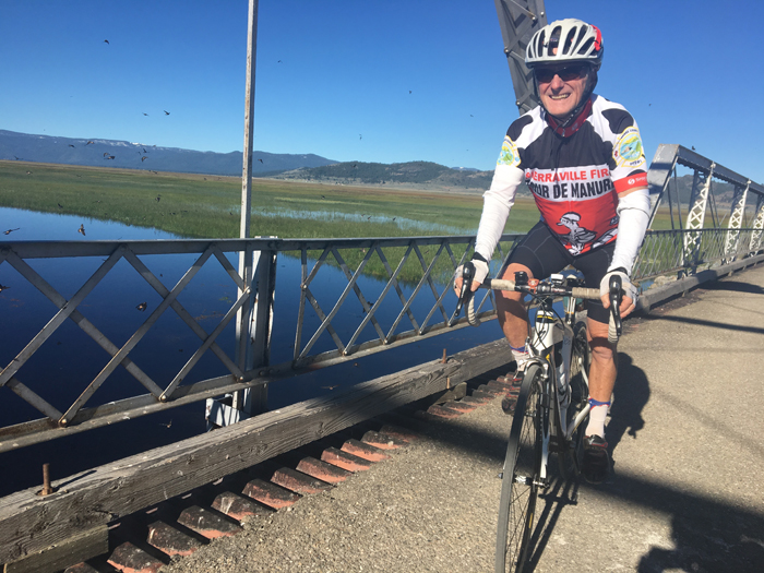 Read founded the annual Tour de Manure Metric Century in Sierra Valley.