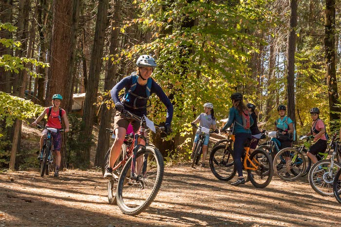 87706dbd79e Have you noticed the buzz around the number of women and girls who are  joining the ranks of mountain bikers? More ladies are than ever are getting  their ...