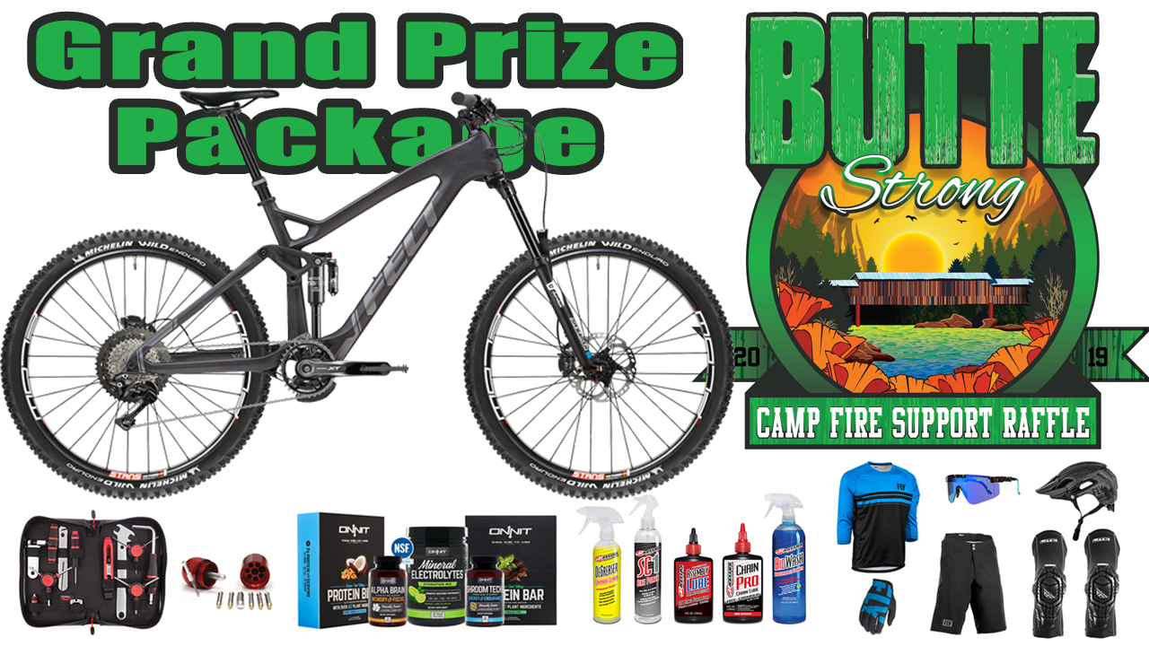 Win a Felt Mountain Bike + MTB Clothing and Gear While Supporting Camp Fire Survivors