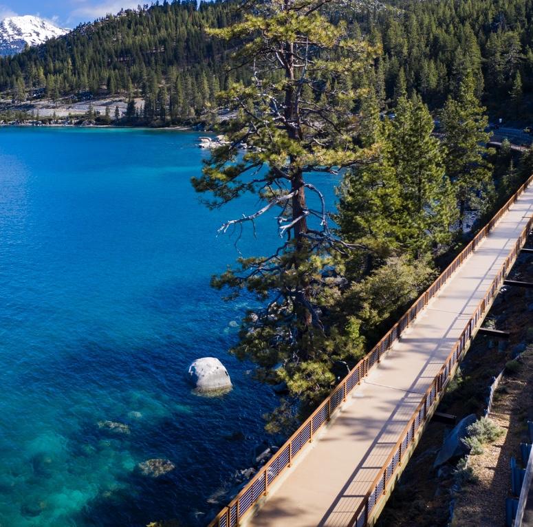 Tahoe's Spectacular New Bike Path