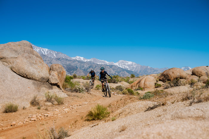 Mountain Biking Alabama Hills